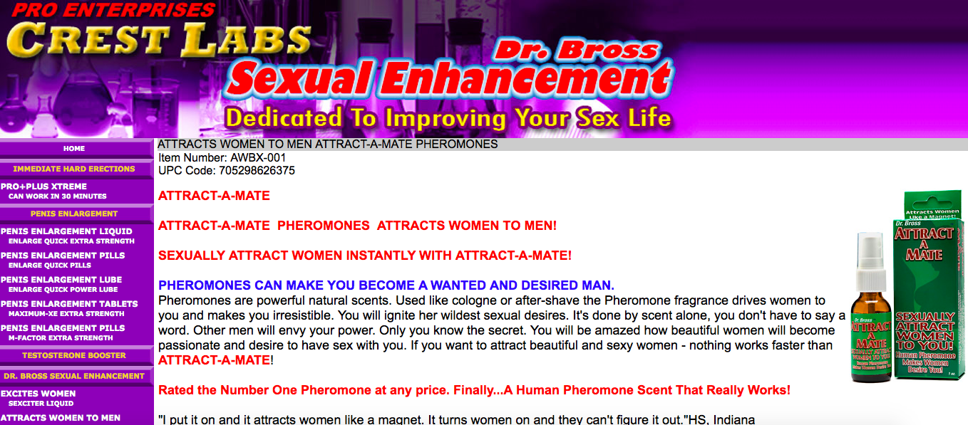 Crest-Labs-Pheromones-Review-Does-SEXCITER-LIQUID-or-and-ATTRACT-A-MATE-Work-All-Here-Dr-Bross-Website-Results-Reviews-Pheromones-For-Him-And-Her